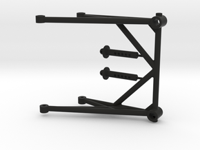 JConcepts - Cube Body Mount in Black Strong & Flexible