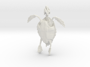 Great A Turtle Skeleton in White Strong & Flexible