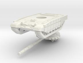1/100 T-72B3M (cage armour) in White Natural Versatile Plastic