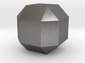 Diamond in Polished Nickel Steel