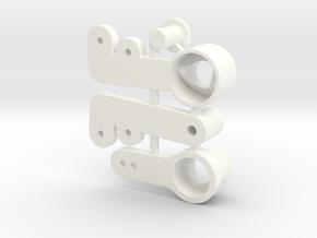 NIX91-Steering SLS in White Processed Versatile Plastic