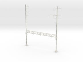PRR LATTICE POLE NORTH PHILLY CUSTOM1 TALL Interlo in White Strong & Flexible