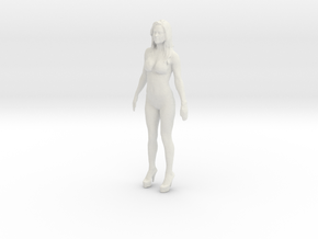 Printle V Femme 521 - 1/24 - wob in White Natural Versatile Plastic