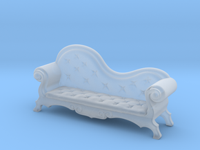 Chaise Lounge 3 in Smooth Fine Detail Plastic