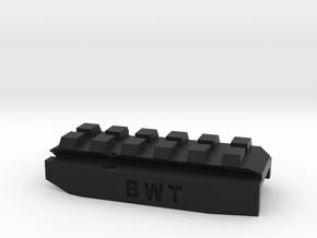 Mk23 Rail Addaptor in Black Natural Versatile Plastic