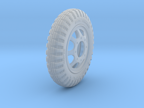 1-18 Opel Blitz Tire 190x20 in Smooth Fine Detail Plastic