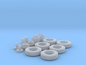 H0 1:87 Reifen 275/80 R22,5 in Smooth Fine Detail Plastic