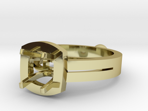 Ring size 50 in 18k Gold
