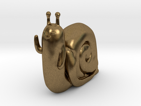 Adventure Time Lich Snail in Natural Bronze: Small