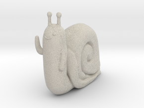 Adventure Time Lich Snail in Natural Sandstone: Small