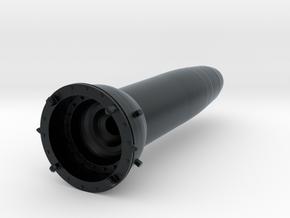 R27U/SS-N-6 SLBM nuclear warhead RV in Black Hi-Def Acrylate: 1:12