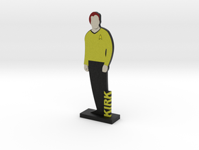 Captain James Kirk = DESKAPADES = in Full Color Sandstone: Small