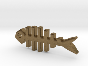 Lucky Charms - Fish in Natural Bronze