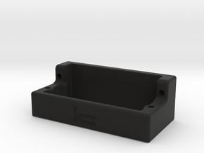 WR8 Servo Mount in Black Natural Versatile Plastic