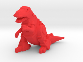 Grimlock Mini/Decoy in Red Processed Versatile Plastic: Medium