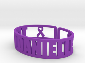Team Danielle Cuff Fundraiser in Purple Strong & Flexible Polished