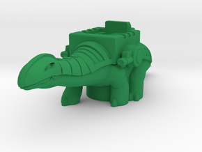 Rairyu TitanMaster Shell in Green Processed Versatile Plastic: Extra Small