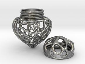Pendulum in Natural Silver
