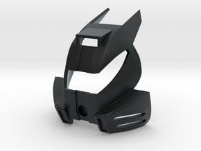 Finned Monovisor Kakama in Black Hi-Def Acrylate
