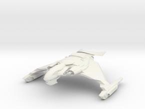 V67 FireWind Class WarBird in White Natural Versatile Plastic