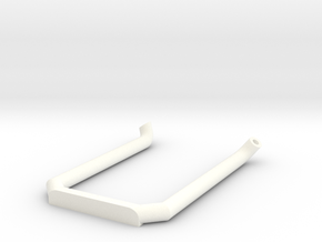 Dobbel eksos Med Knekk Uten Potte in White Strong & Flexible Polished