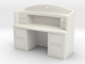 Writing Desk in White Strong & Flexible