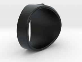 FLYMOLO's Ring in Black Hi-Def Acrylate