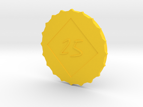 CS-O2518 Cap for Lens Hood  in Yellow Processed Versatile Plastic