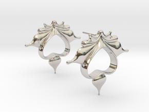 R1 in Rhodium Plated Brass
