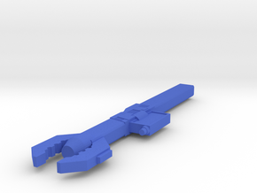 Sonic Wrench version B in Blue Processed Versatile Plastic