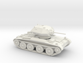 Covenanter (1:87 HO scale) in White Natural Versatile Plastic