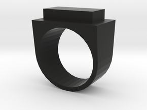 Yang Ring in Black Natural Versatile Plastic: 4.5 / 47.75