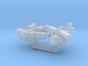 Alpha Bravo & Powerglide, Broadside Scale in Smooth Fine Detail Plastic