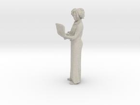 Printle C Femme 117 - 1/20 - wob in Natural Sandstone