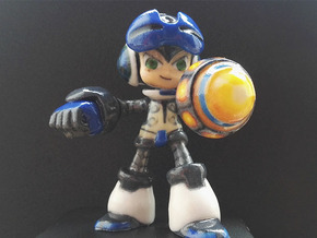 Beck (Mighty No. 9) in Glossy Full Color Sandstone