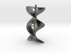 Elegant Z-DNA in Polished Nickel Steel