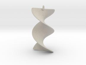 Elegant Z-DNA in Natural Sandstone