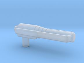 Predator Gun, 5mm in Smooth Fine Detail Plastic