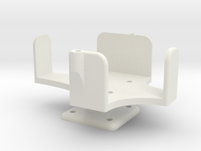 Light bridge Air System Mount Part 1 in White Natural Versatile Plastic