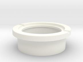 SCOPE FRONT (5 of 8) in White Processed Versatile Plastic