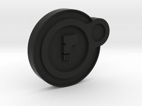 Dead Orbit Personal Emblem in Black Natural Versatile Plastic
