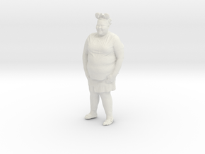 Printle C Femme 192 - 1/35 - wob in White Strong & Flexible