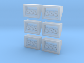"Small Airboxes ""builder's bundle"" in Frosted Ultra Detail"