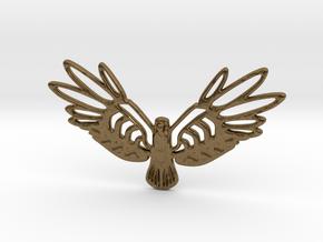 Golden Bird in Natural Bronze