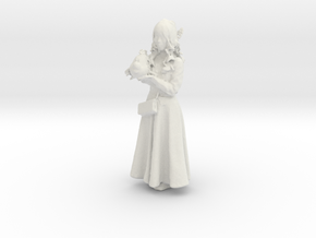Printle C Femme 189 - 1/24 - wob in White Strong & Flexible