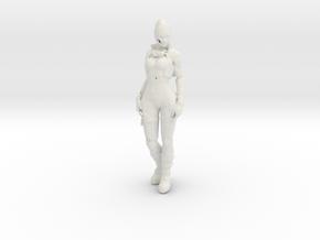 Printle V Femme 345 - 1/24 - wob in White Natural Versatile Plastic