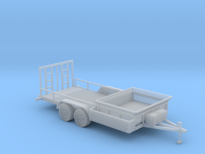 Dump Trailer Long 1-87 HO Scale in Smooth Fine Detail Plastic