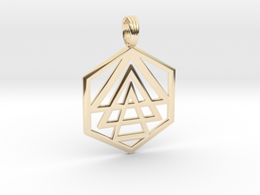 VOICE OF GOD in 14K Yellow Gold