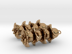 Bellings in Polished Brass (Interlocking Parts): Medium