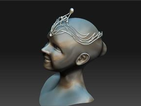 child's crown in White Natural Versatile Plastic